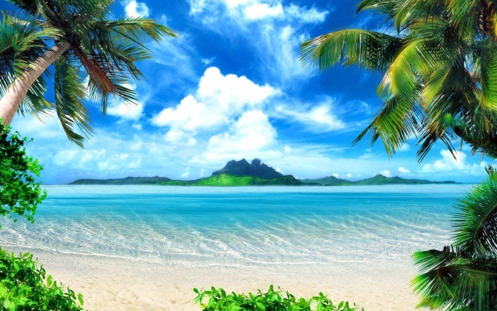 fondos para fotos de la playa