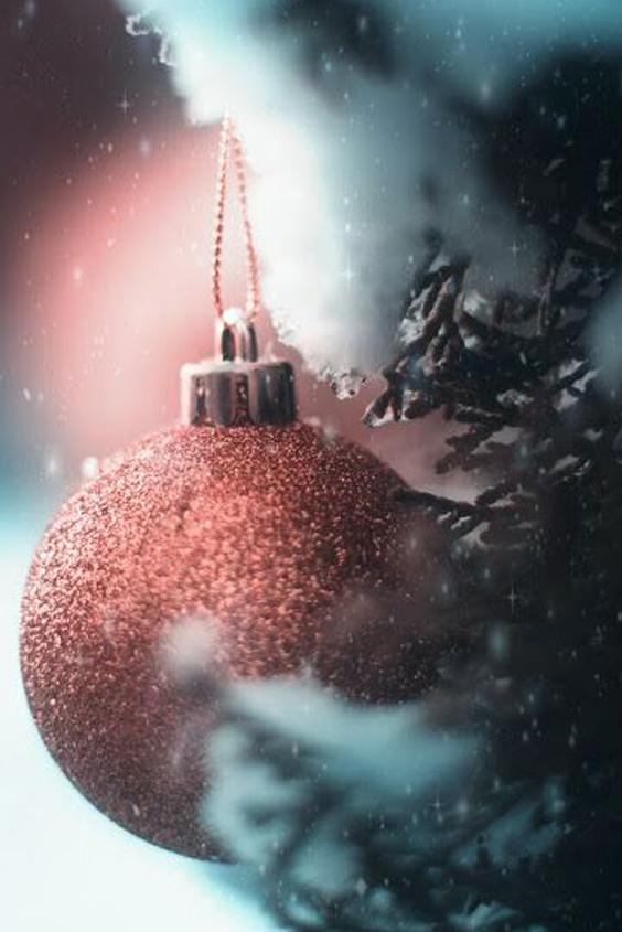 bola navideña