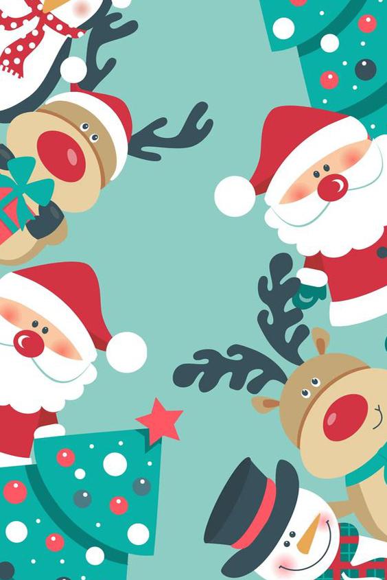 fondo para movil navideño