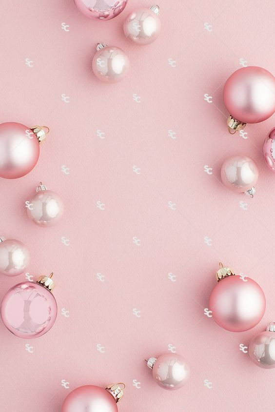 fondos con bolas navideñas