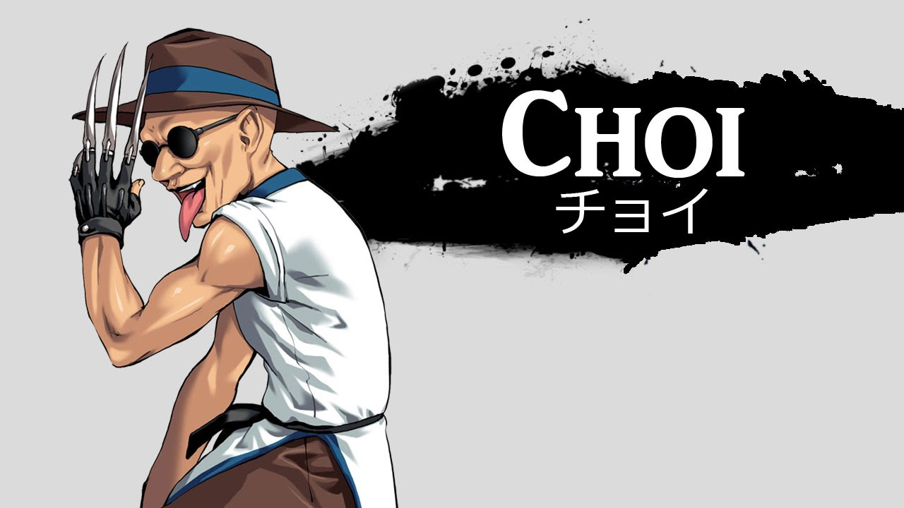 personaje Choi the king of fighters