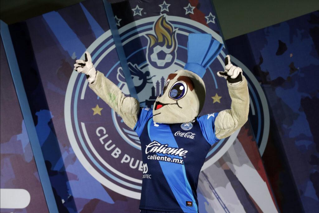 Mascota del Puebla