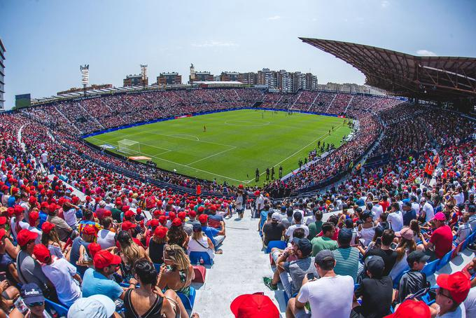 Estadio del Valencia