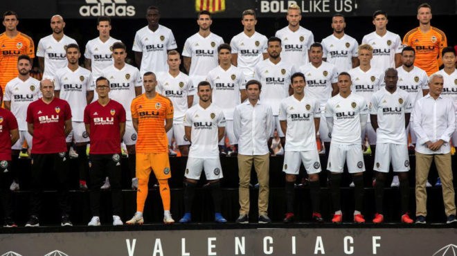 Plantilla del Valencia CF