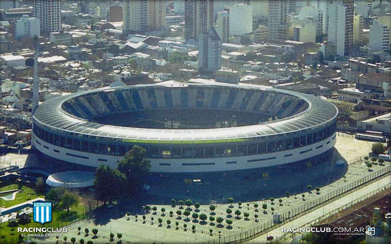 Vista aérea del estadio