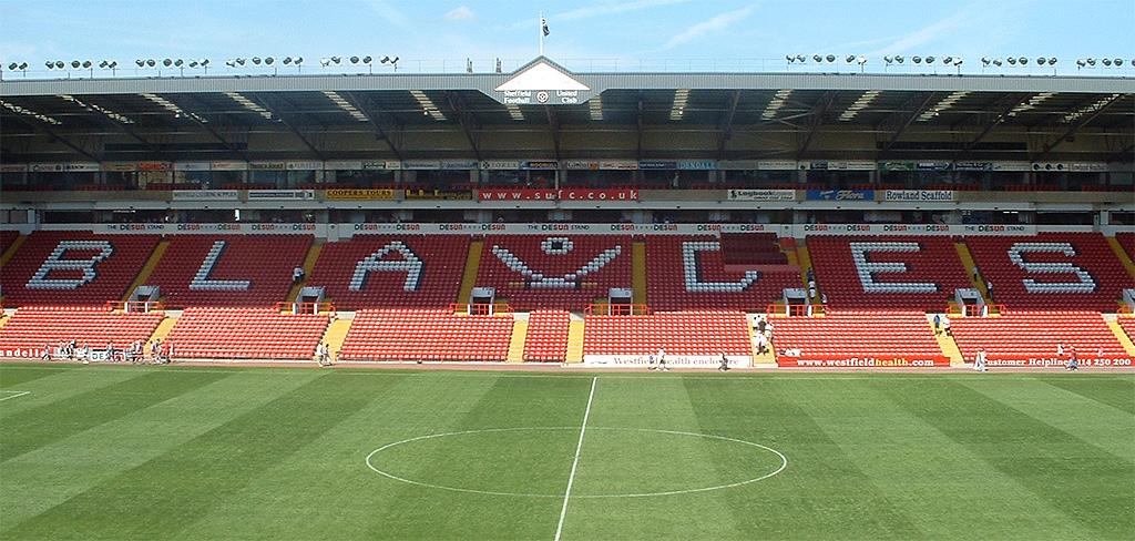 Estadio en Inglaterra