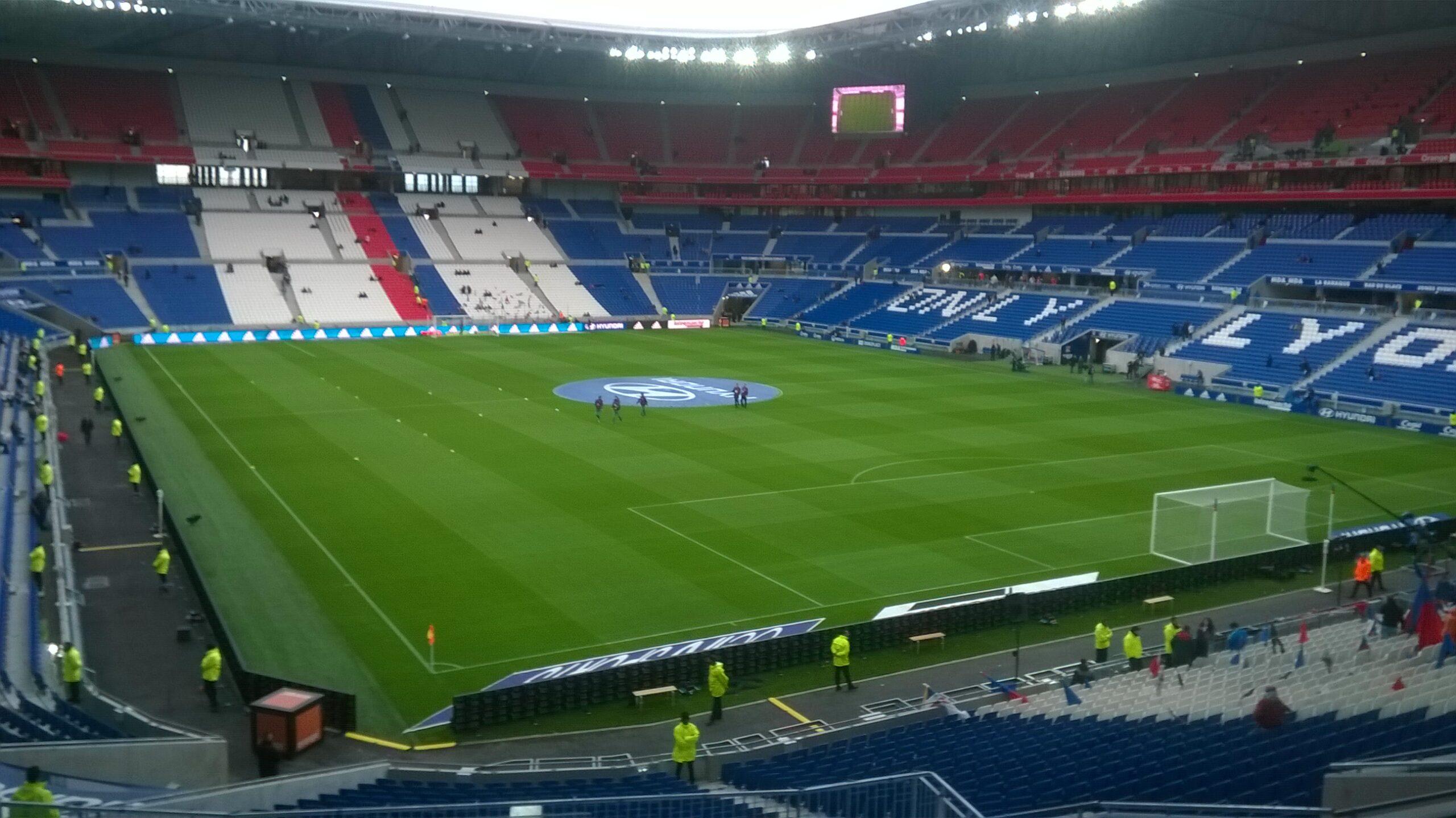 Estadio y casa del Lyon
