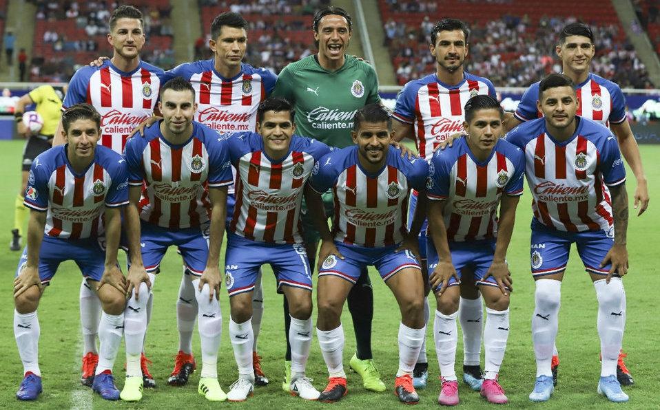 Chivas y sus jugadores