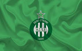 Bandera dell Saint-Etienne