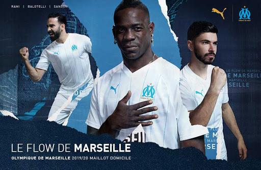 Jugadores del Marseille