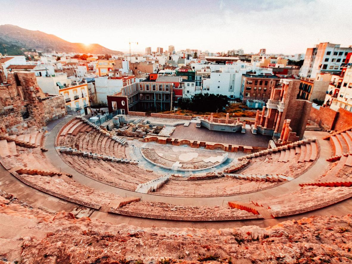 Teatro romano en HD