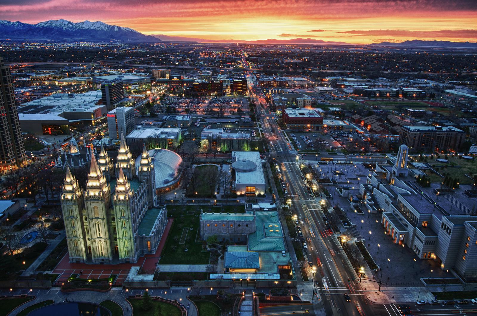 Ciudad por mormones