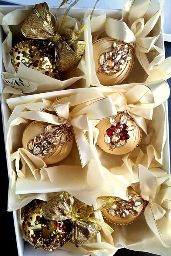 bolas doradas baratas