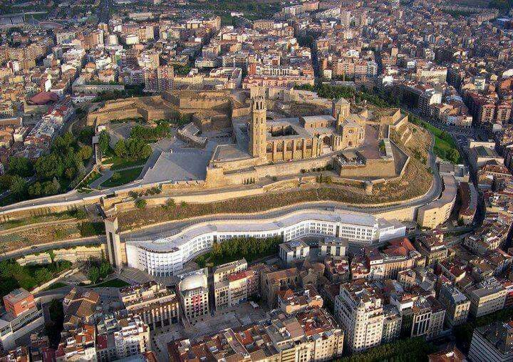 Lleida desde arriba