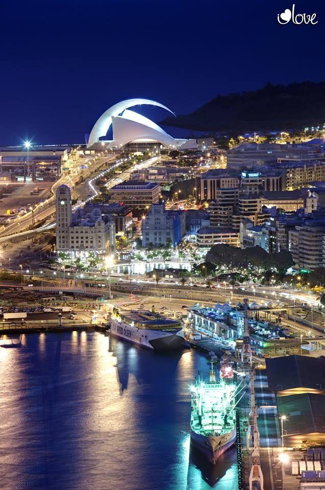 Tenerife de noche