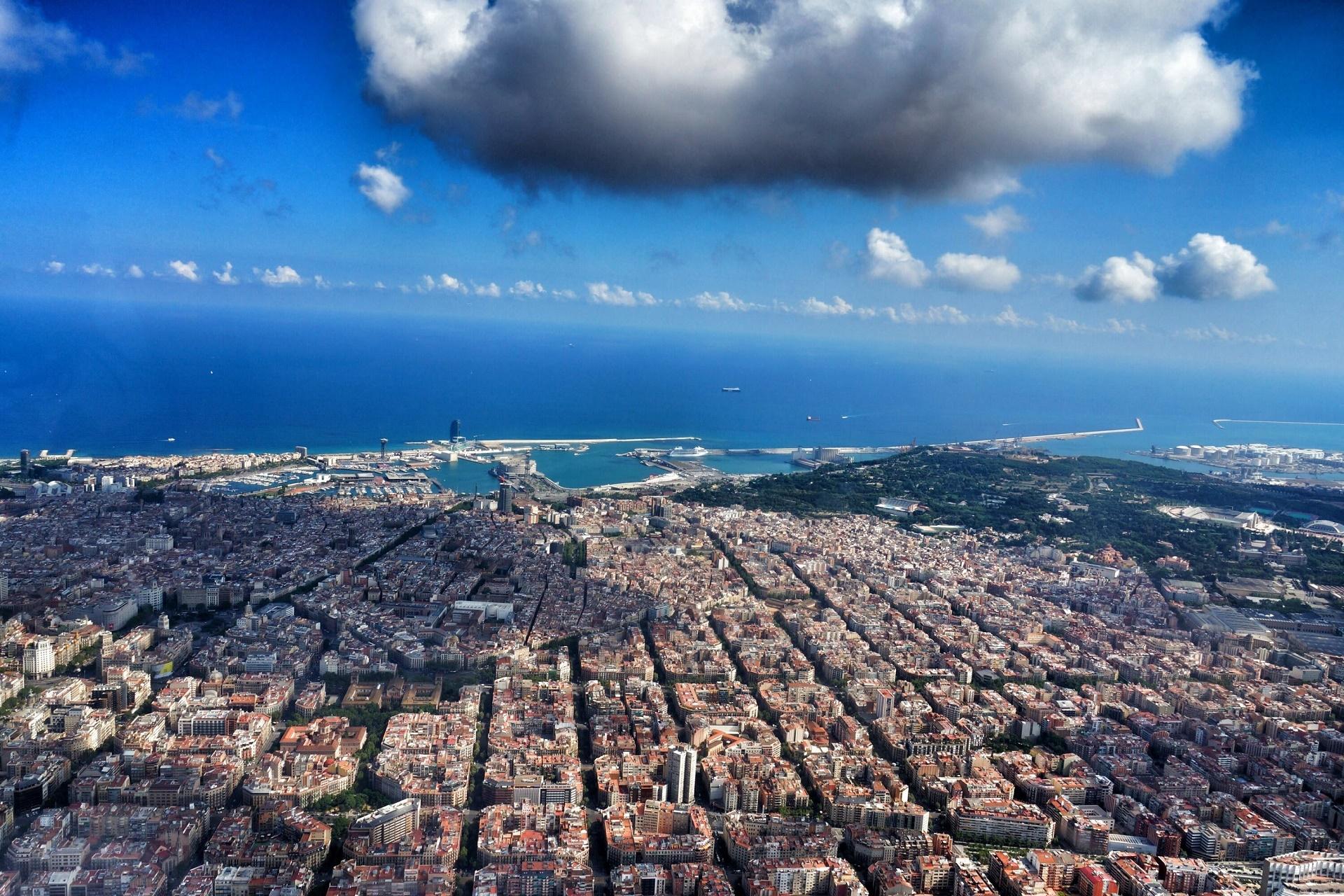 Barcelona desde el cielo