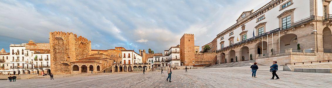 Panorámica en Cáceres