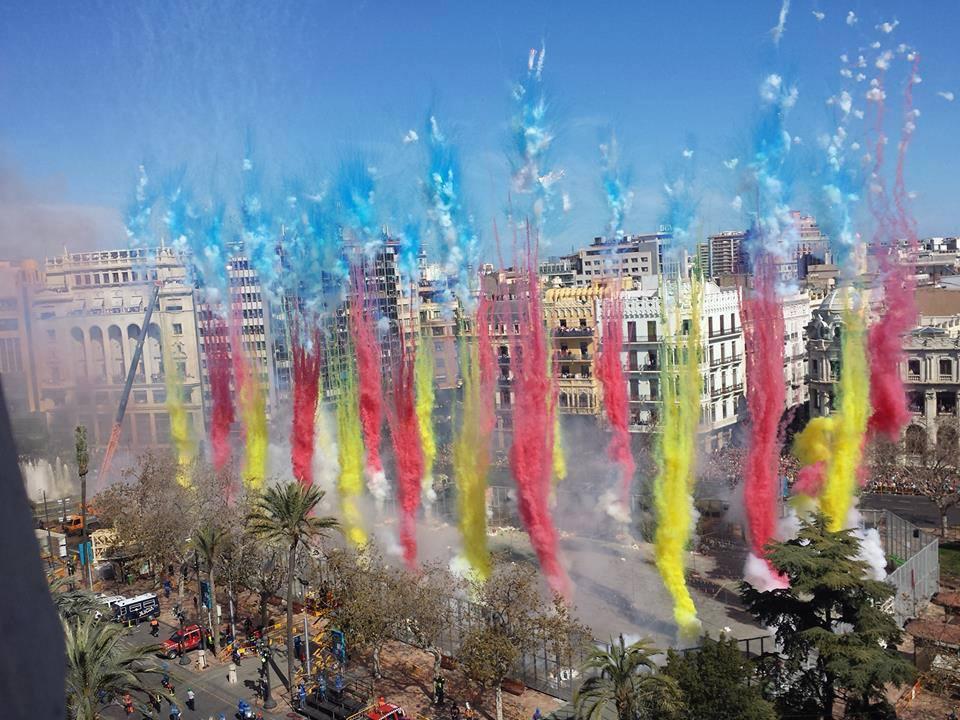 Fallas en Valencia