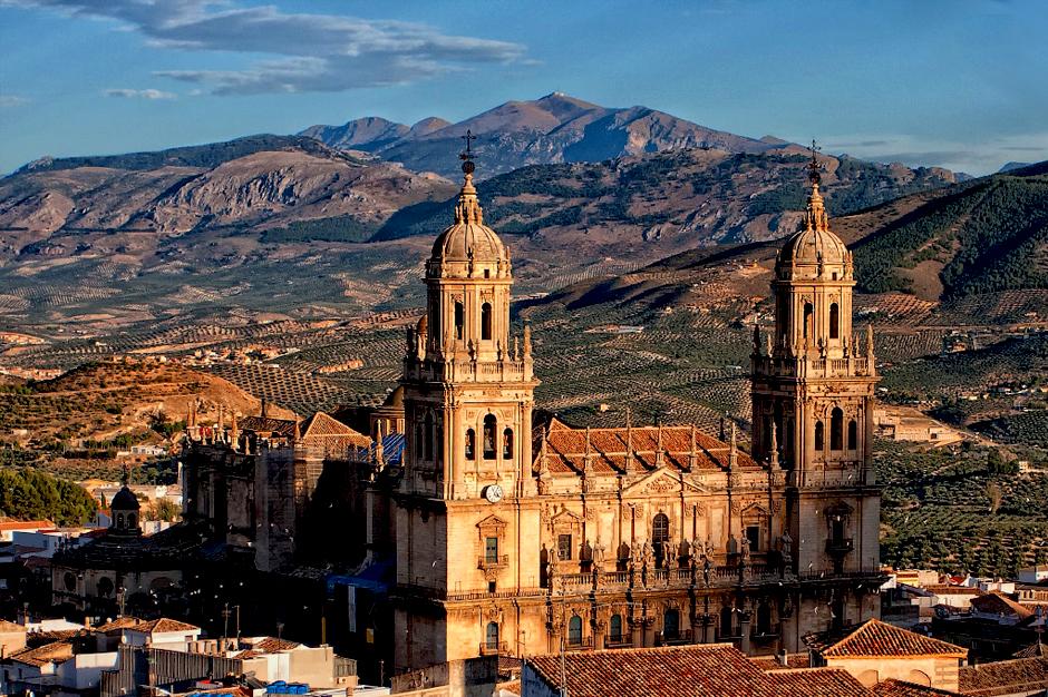 Jaén en atardeceres