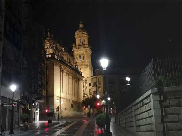 Jaén de noche