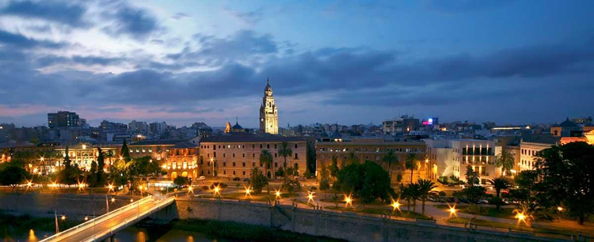 Murcia de noche