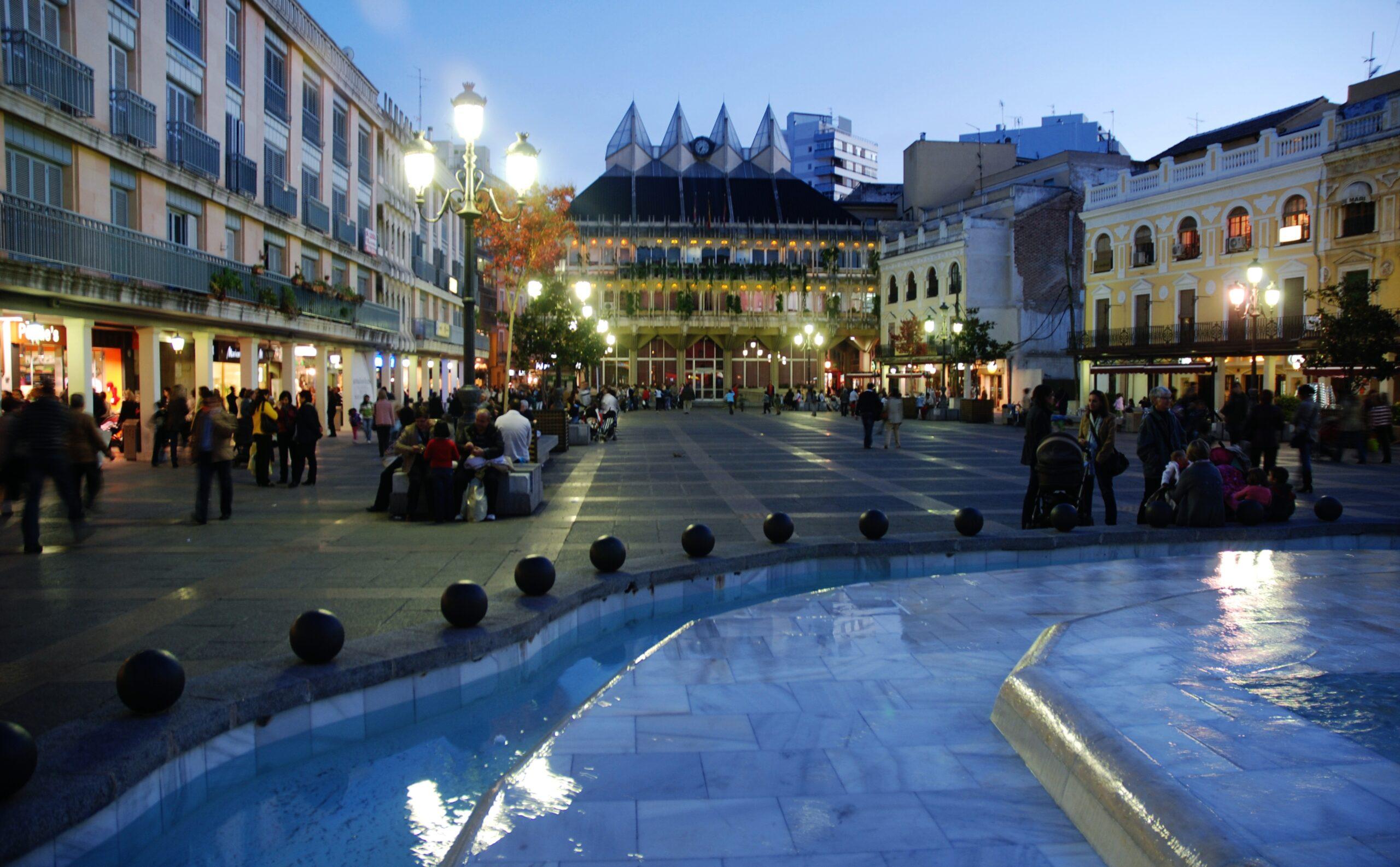 Ciudad Real de noche