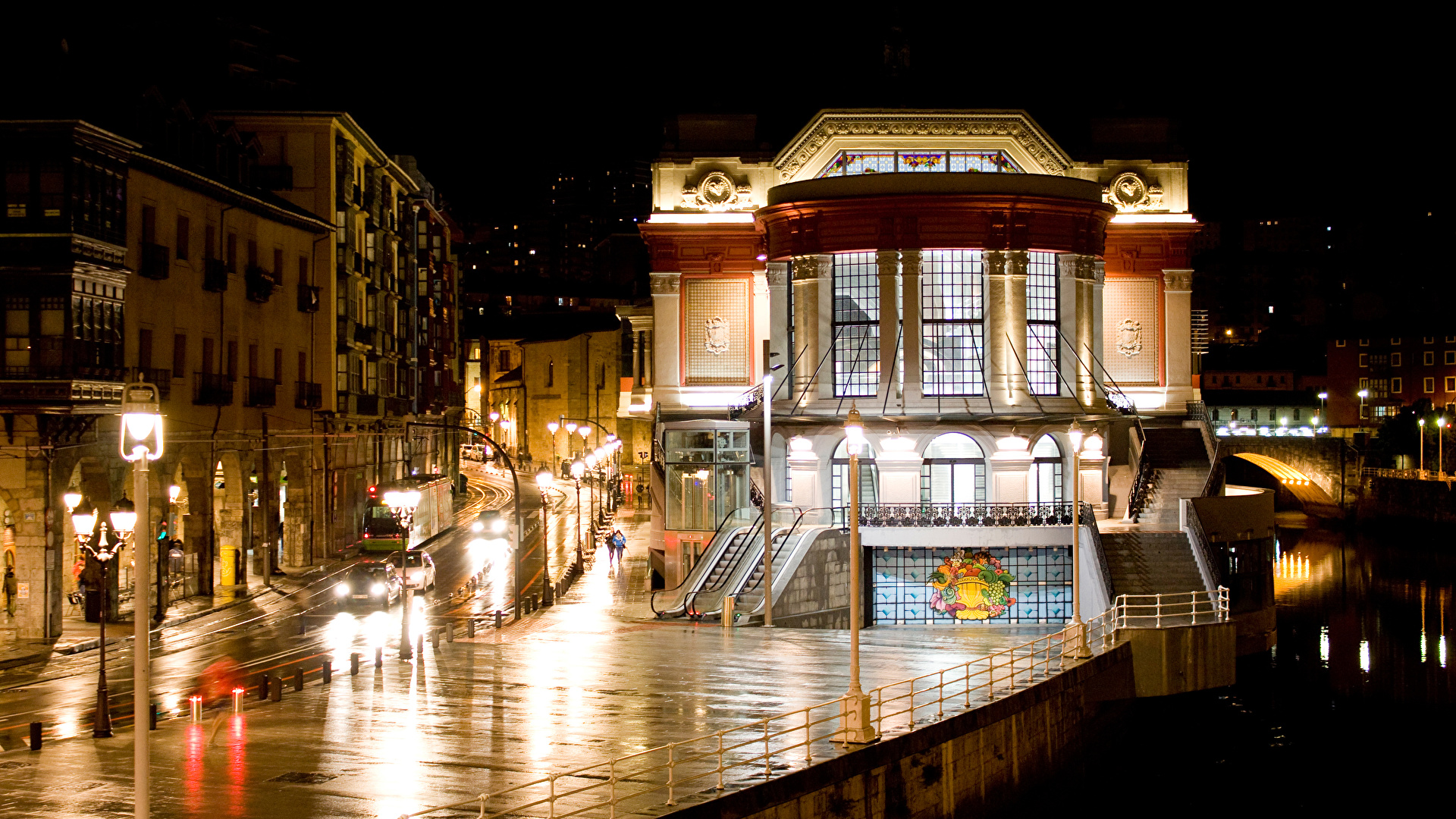 Bilbao de noche