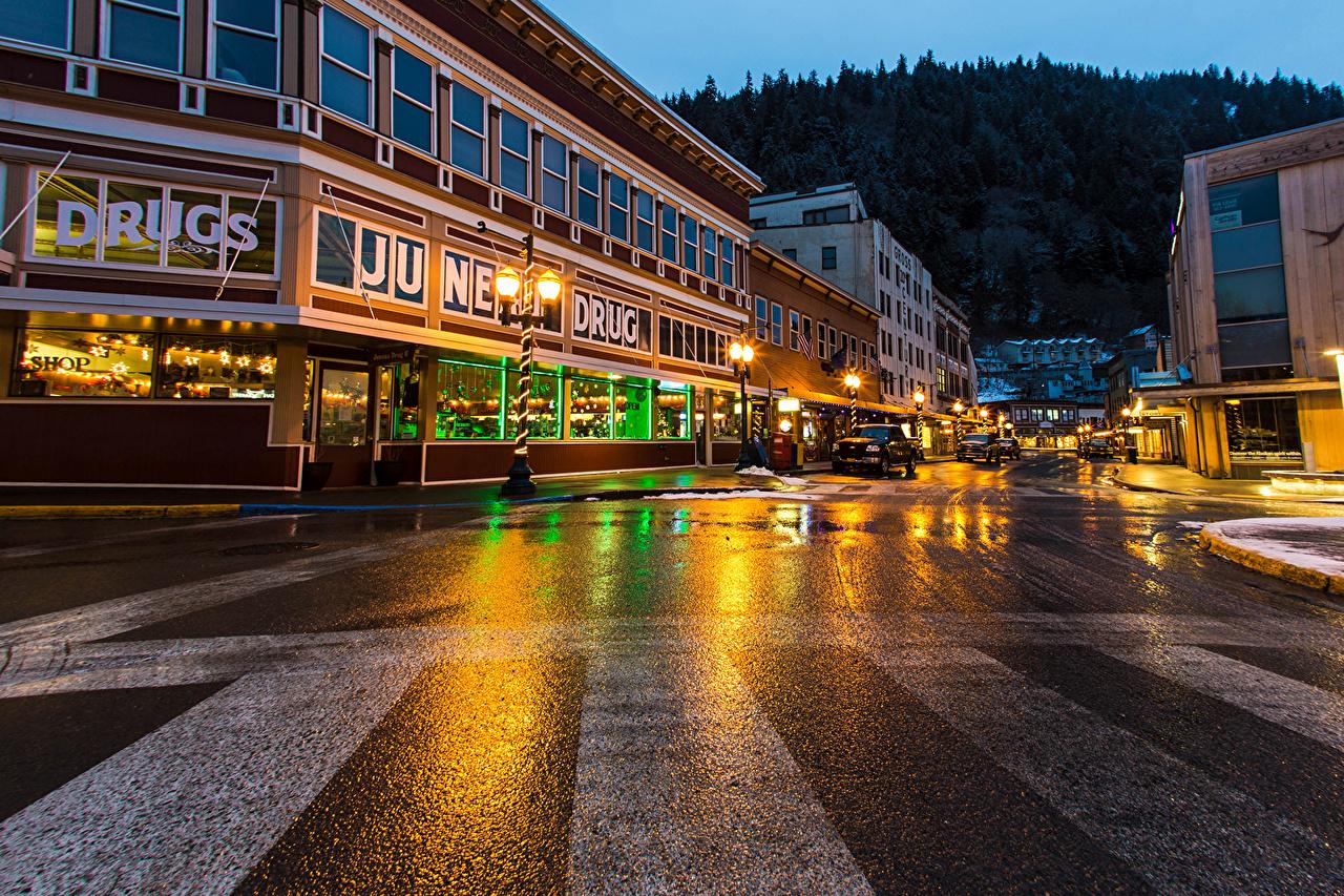 Recorre las calles de Alaska