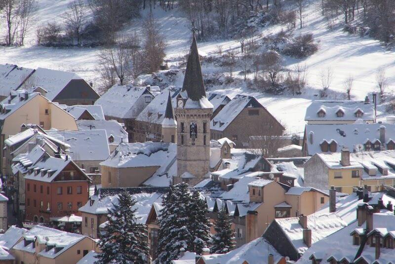 Invierno en Vielha