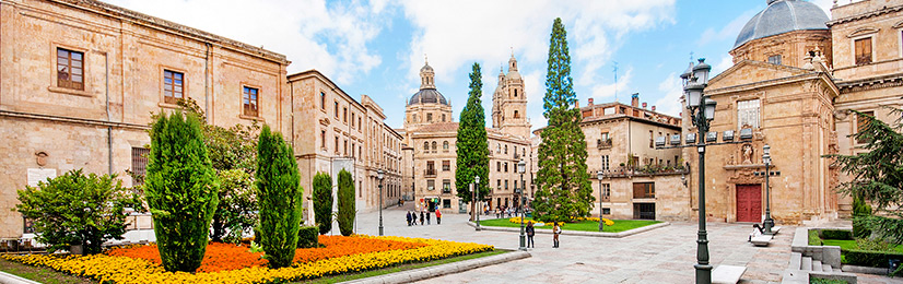 Panorámica en Salamanca