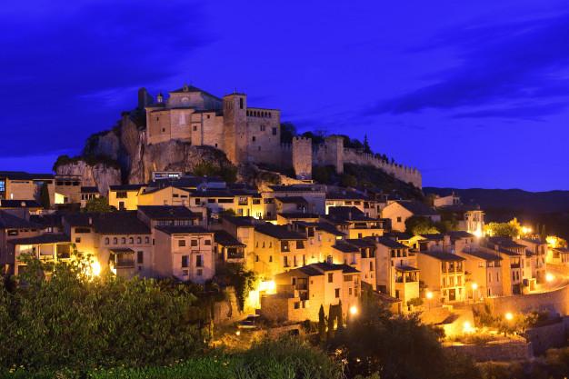 Atardecer en Huesca