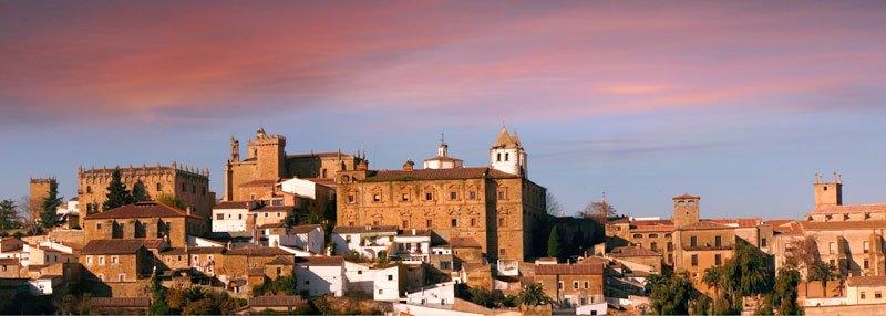 Atardeceres en Cáceres