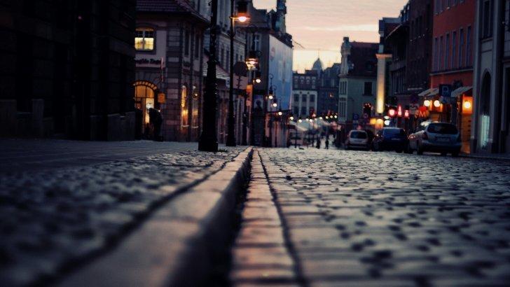 Calle luz tarde