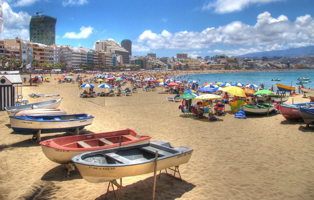 Playas en Las Palmas