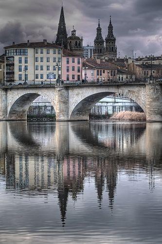Puente en Logroño
