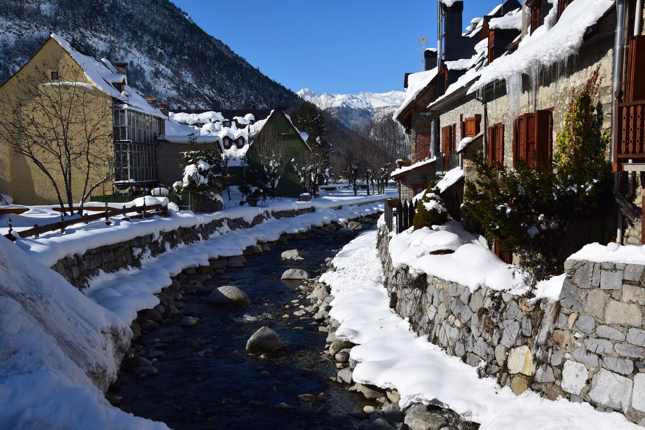 Nieve en Vielha