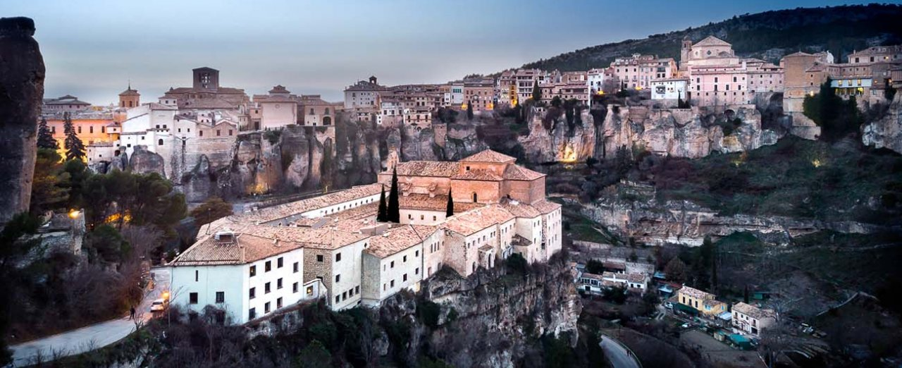 Cuenca desde arriba
