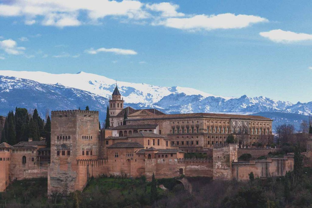 Granada sitios