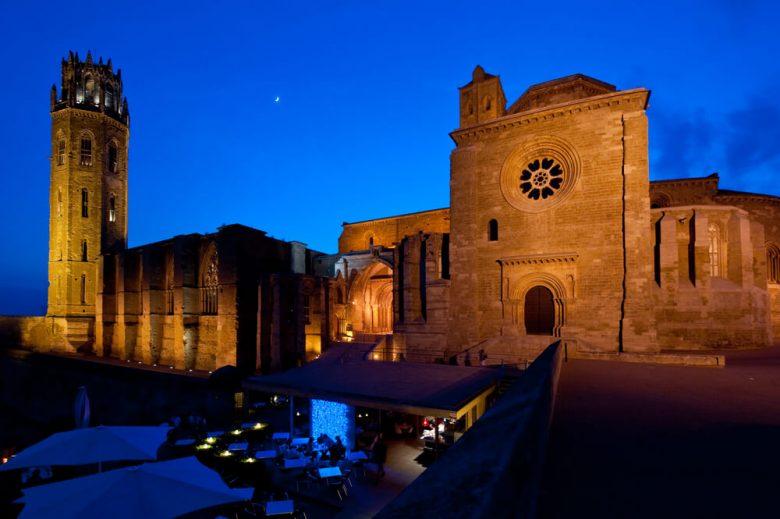 Lleida de noche