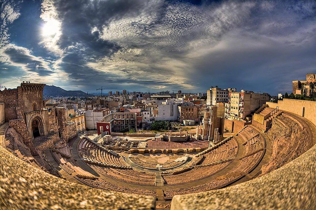 Teatro Romano en Cartagena