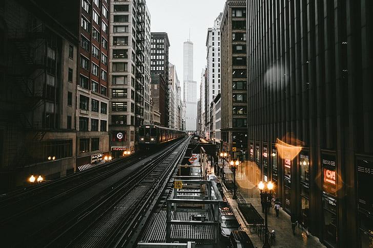 Atardeceres en Chicago