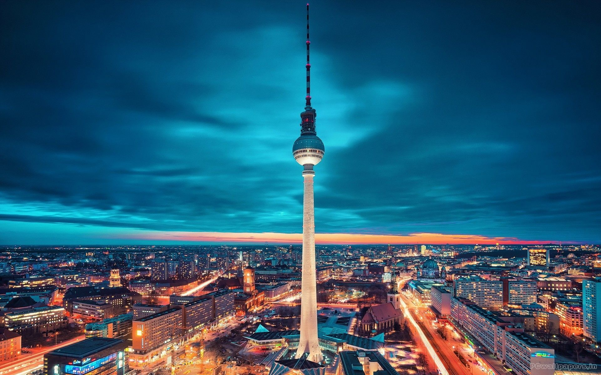 Berlín de fondo