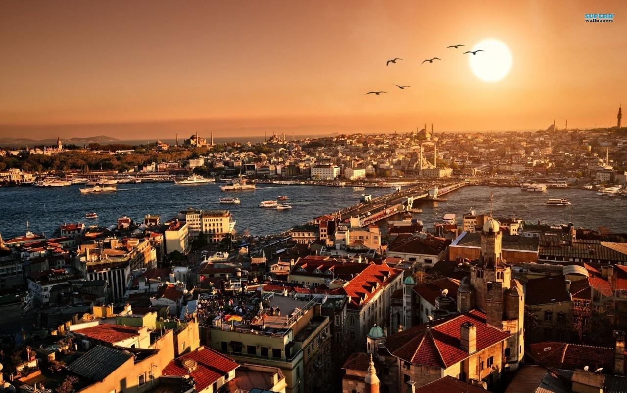 Atardeceres en Estambul