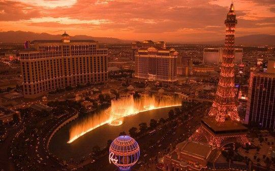 Atardecer en las Vegas
