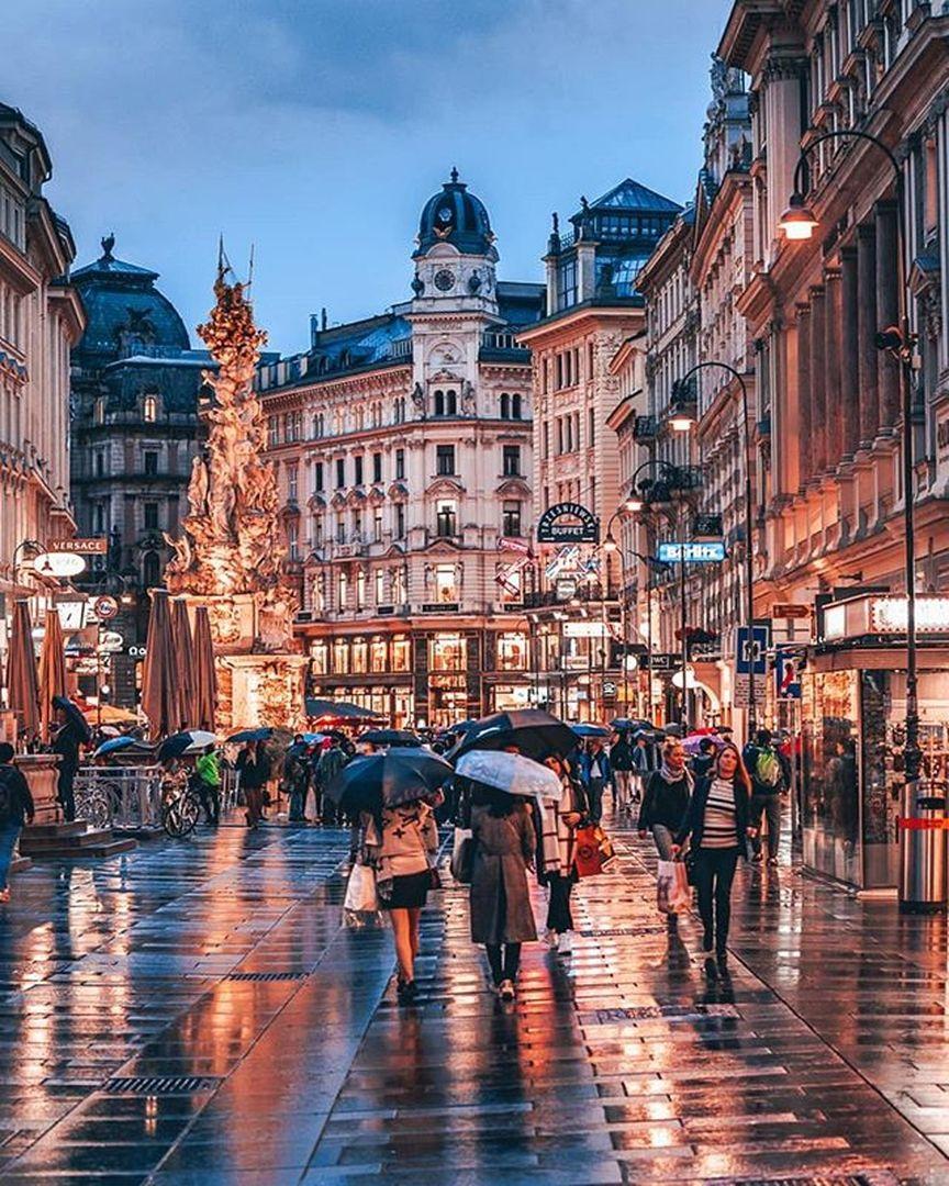 Camina por la hermosa ciudad