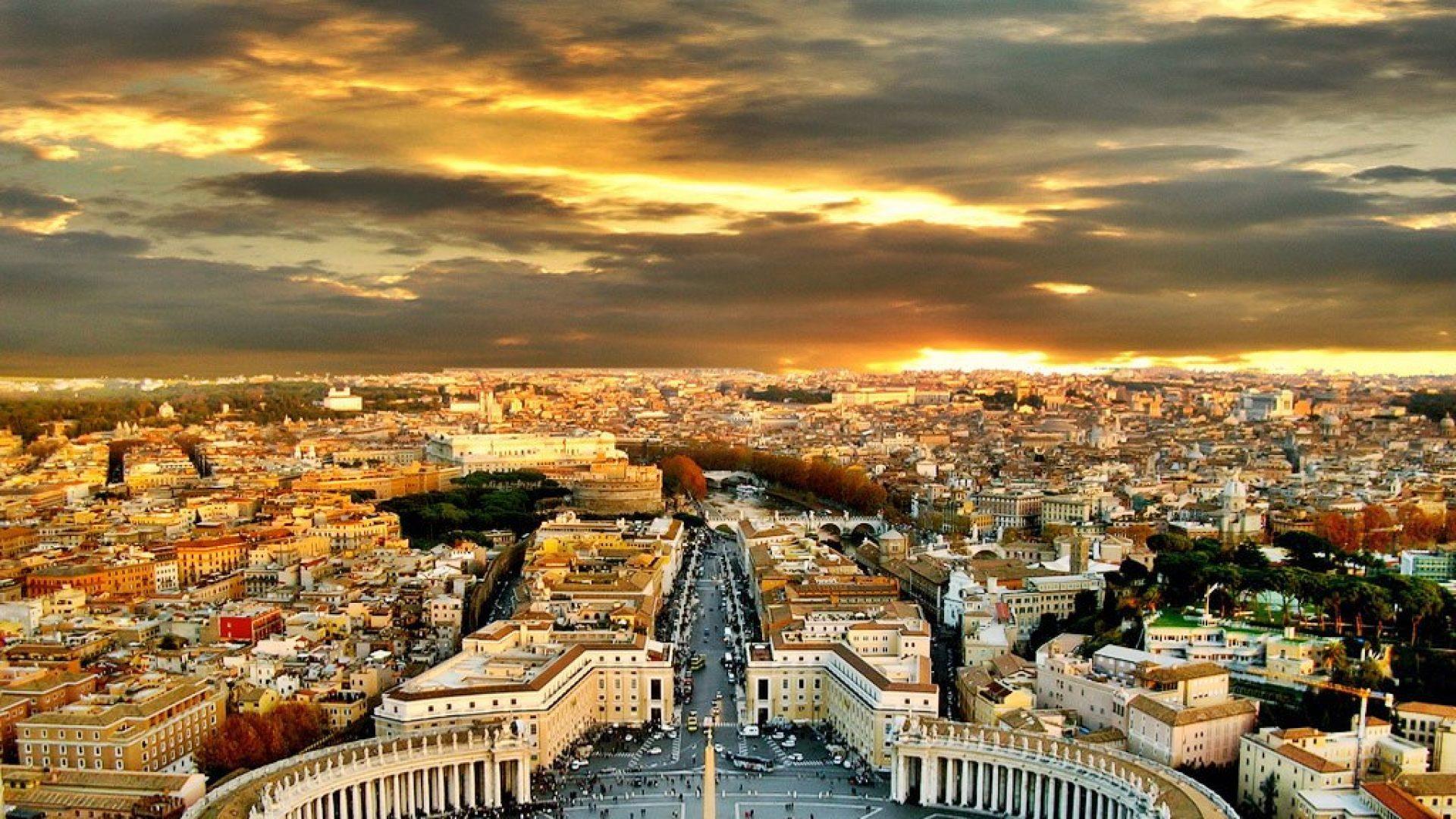 Atardecer de Roma