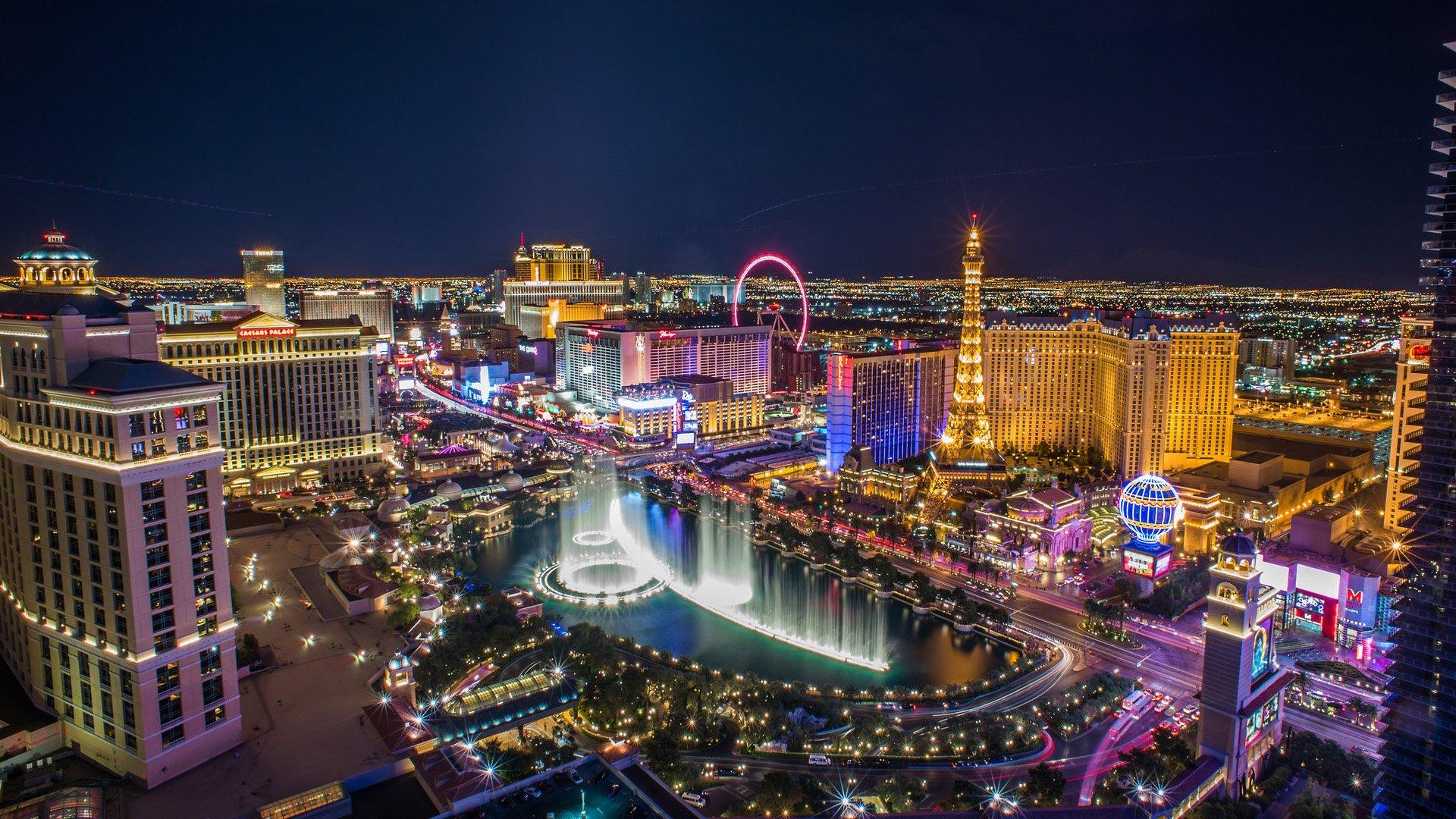 Vista a Las Vegas