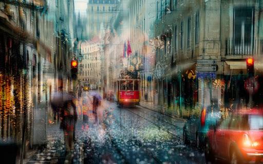 Transita por las calles de Lisboa