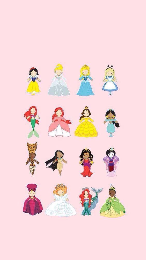 Fondos de pantalla de Disney princesas