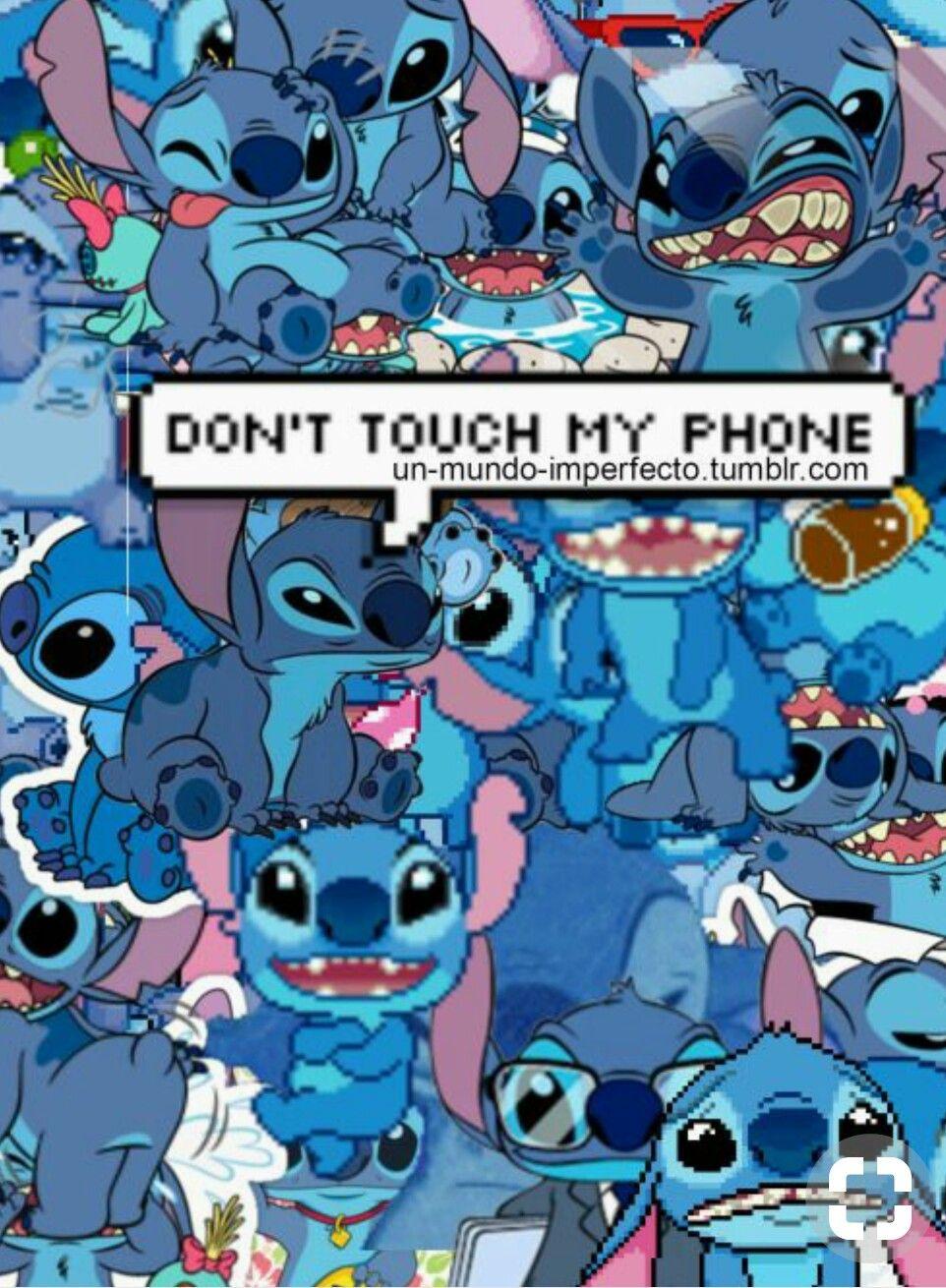 Fondos de pantalla no toques mi celular stitch